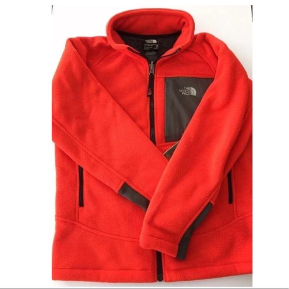 4261a3752 The North Face youth boys Chimborazo fleece zip up NWT